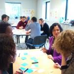 world café- intelligence collective-atelier collaboratif